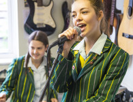 Olivia Head Girl  singing