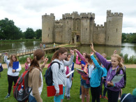 Year 7 at Bodiam Castle