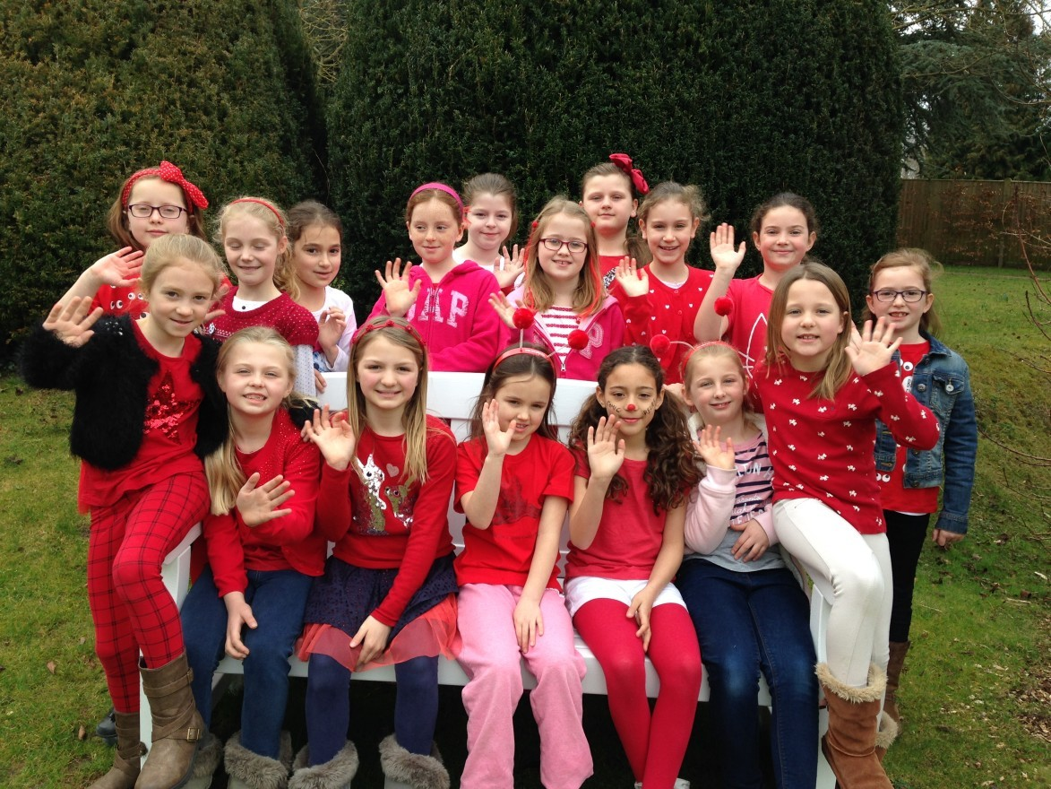 Junior School Year 5 photograph on Comic Relief