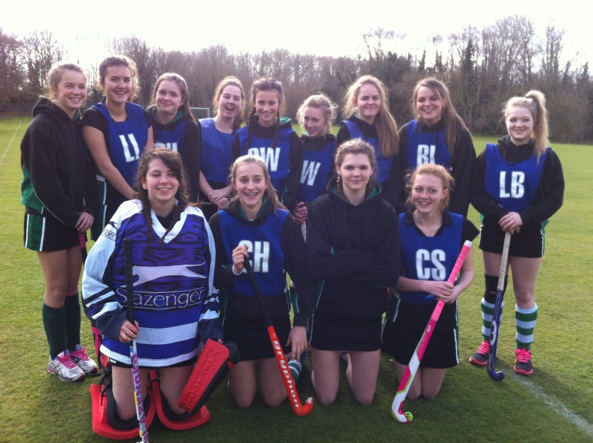 Sport - Interhouse hockey team 1 of 3