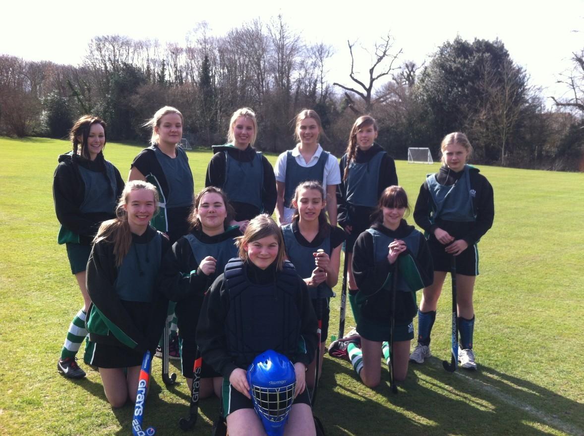 Sport - Interhouse hockey team 3 of 3