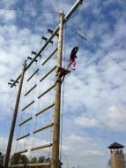 Trapeze jump