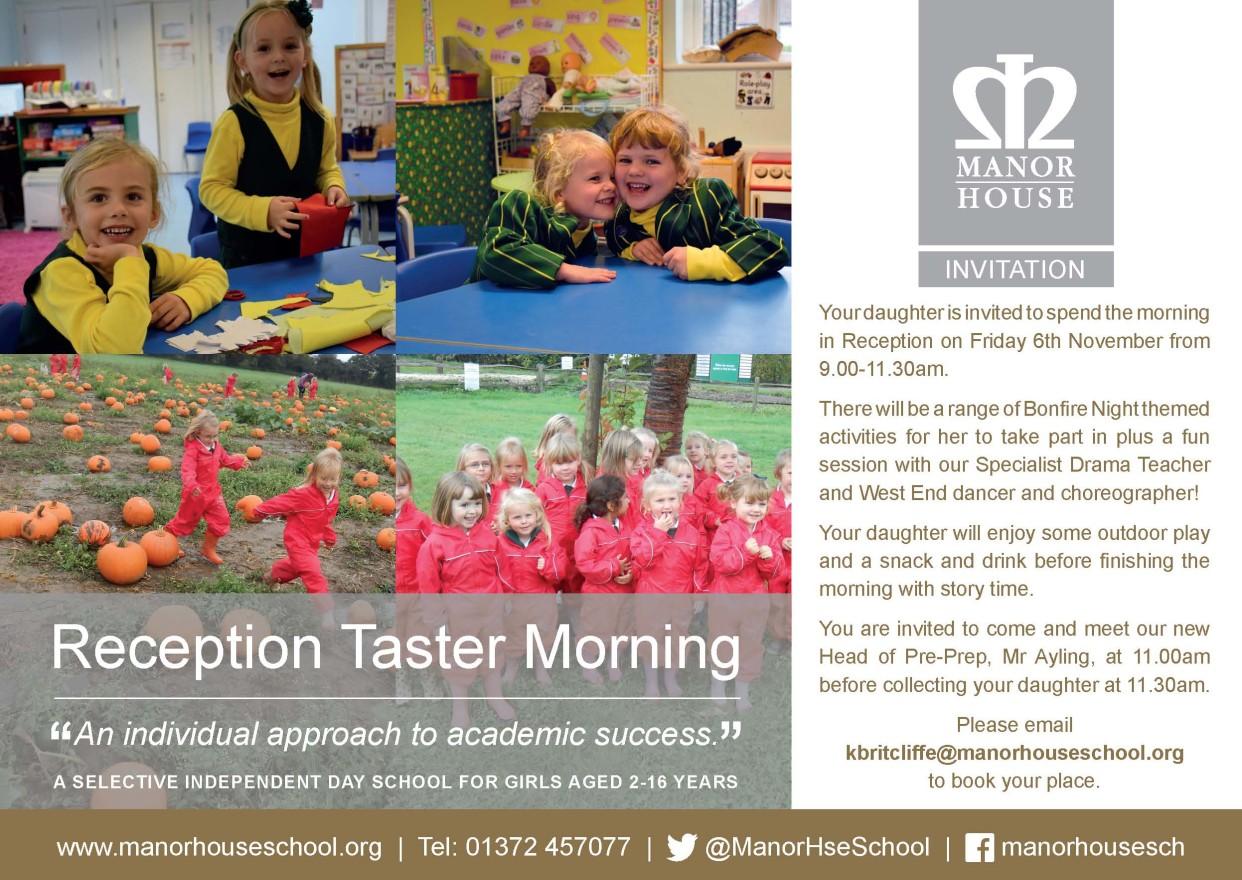Reception Taster Morning JPEG