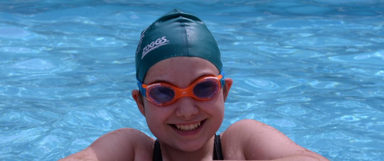 Student-Swimming