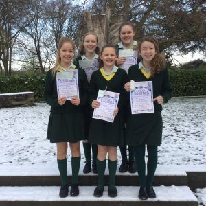 Writing Competition Winners English